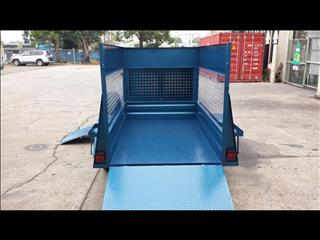 Lawn Mower Trailer with Cage (Item 18)