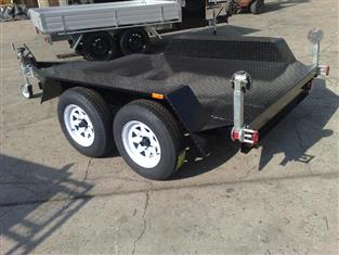 Flat Bed Trailer Dual Axle (Item 104)