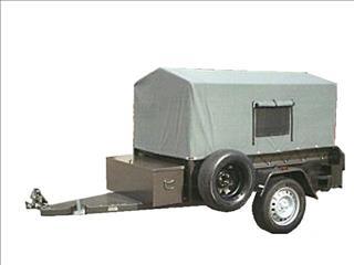 Box Camper Trailer (Item 4)