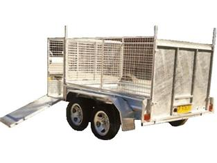 Gardeners Trailer with Cage (Item 19)