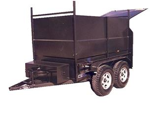 Builders Trailer with Dual Axle (Item 21