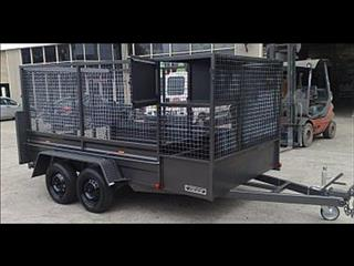 Gardeners Trailer with Cage (Item 199)