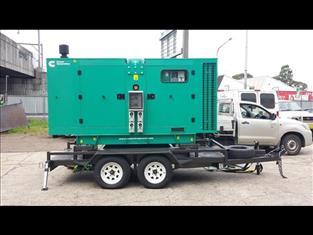 Generator Tandem Trailer (Item: 350)