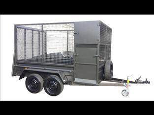 Caged Gardeners Trailer (Item 38)