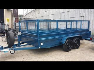 Car Trailer Boxed with Cage (Item 15)
