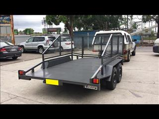 Car Trailer with Cage (Item 144)