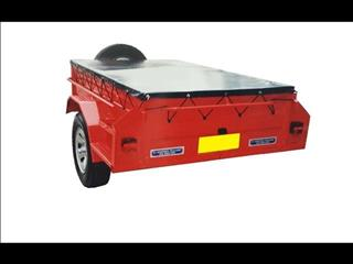 Box Trailer with PVC Cover (Item 1)