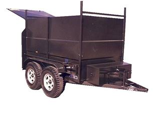 Builders Trailer with Dual Axle (Item 211)