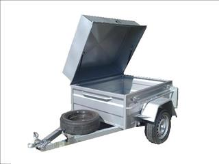 Box Trailer with Lid (Item 125)