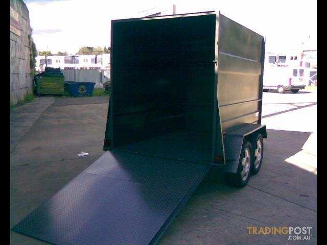 Luggage Trailer Enclosed Dual Axle (Item 94)