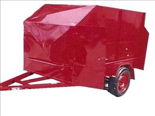 Go Cart Trailer Enclosed (Item 34)