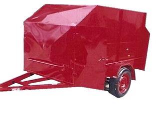 Go Cart Trailer Enclosed (Item 34)