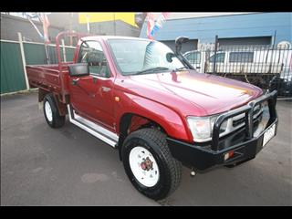 1998 TOYOTA HILUX  LN167R CAB CHASSIS