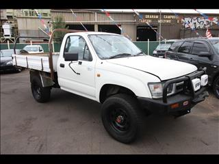2001 TOYOTA HILUX  LN172R CAB CHASSIS