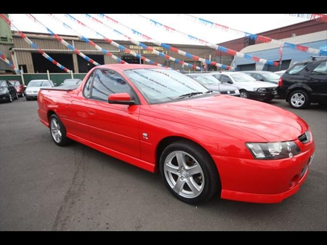 2004 HOLDEN UTE STORM S VY II UTILITY