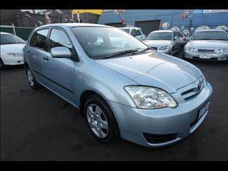 2006 TOYOTA COROLLA Ascent ZZE122R HATCHBACK