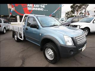 2007 HOLDEN RODEO LX RA CAB CHASSIS