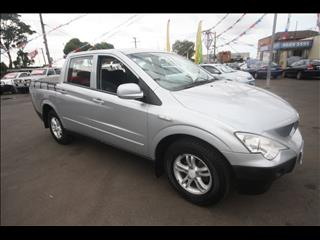 2007 SSANGYONG ACTYON SPORTS Sports 100 Series UTILITY