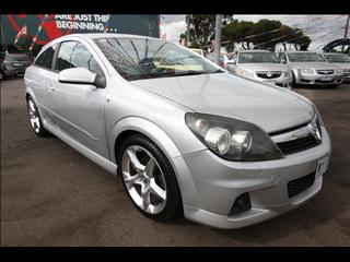 2007 HOLDEN ASTRA SRi Turbo AH COUPE