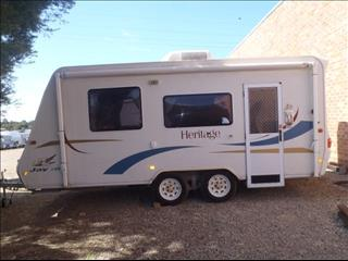 Caravan Hire - Jayco with Double Bed