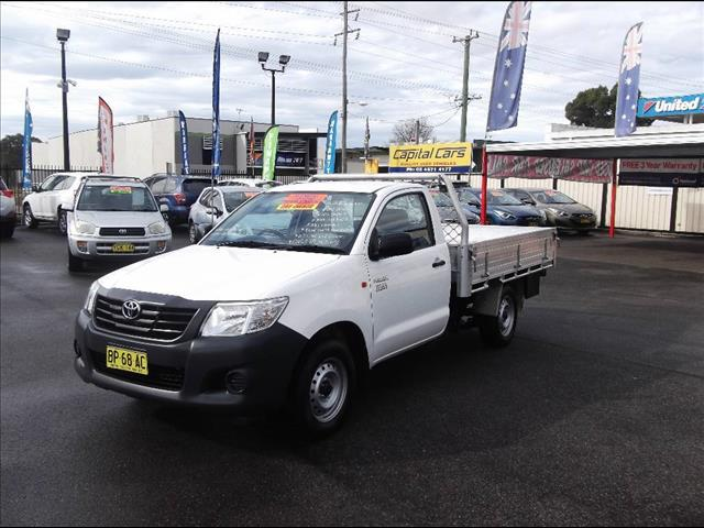 2012 TOYOTA HILUX WORKMATE TGN16R MY12 CCHAS