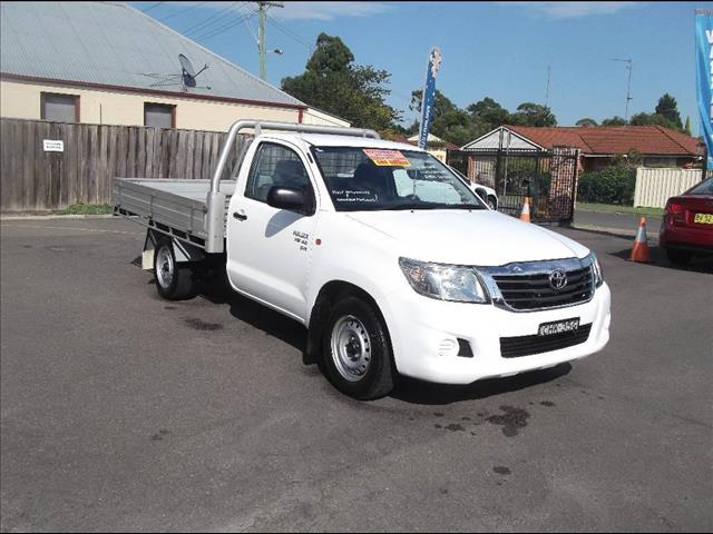 2012 TOYOTA HILUX SR GGN15R MY12 CCHAS