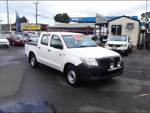 2014 TOYOTA HILUX WORKMATE TGN16R MY14 DUAL CAB PUP