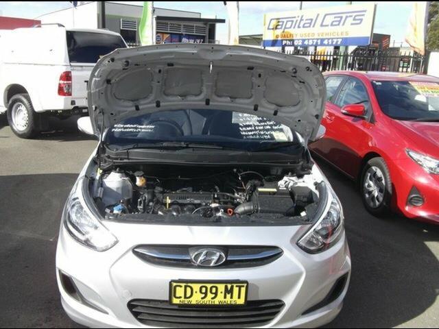 2015 Hyundai Accent Active RB2 MY15 Hatchback