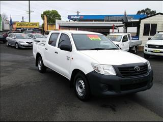 2014 Toyota Hilux Workmate TGN16R MY14 Dual Cab Pick-up