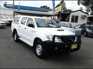 2014 Toyota Hilux SR (4x4) KUN26R MY14 Dual Cab Pick-up
