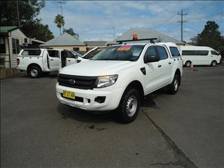 2014 FORD RANGER XL 2.2 HI-RIDER (4x2) PX CREW CAB P/UP