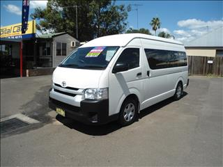 2014 TOYOTA HIACE COMMUTER KDH223R MY14 BUS