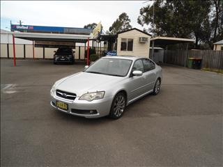 2004 SUBARU LIBERTY 2.5i PREMIUM MY05 4D SEDAN
