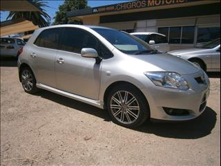 2008 TOYOTA COROLLA LEVIN ZR ZRE152R 5D HATCHBACK