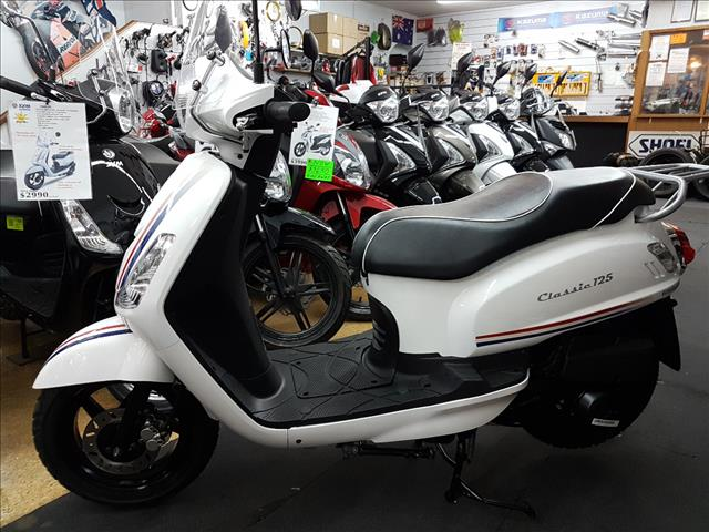 2017 SYM CLASSIC 125 125CC MY16 SCOOTER