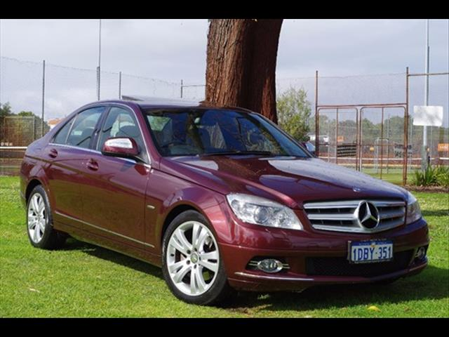 2008 MERCEDES-BENZ C200 KOMPRESSOR AVANTGARDE W204 SEDAN