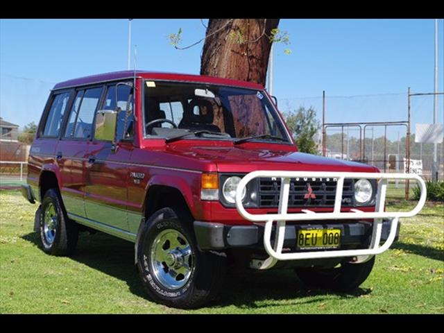 1991 MITSUBISHI PAJERO SUPERWAGON NG WAGON