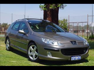 2006 PEUGEOT 407 ST HDI EXECUTIVE (No Series) WAGON