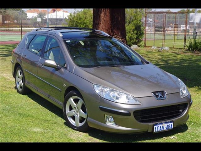 2006 PEUGEOT 407 ST HDI EXECUTIVE (No Series) WAGON