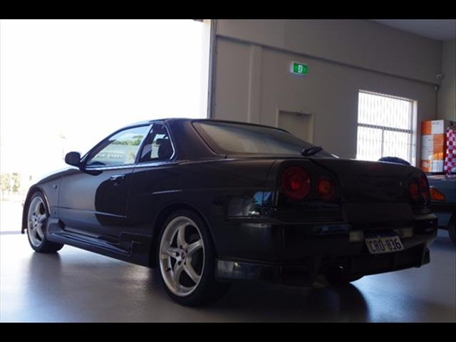 1998 NISSAN SKYLINE 25GT-T R34 COUPE