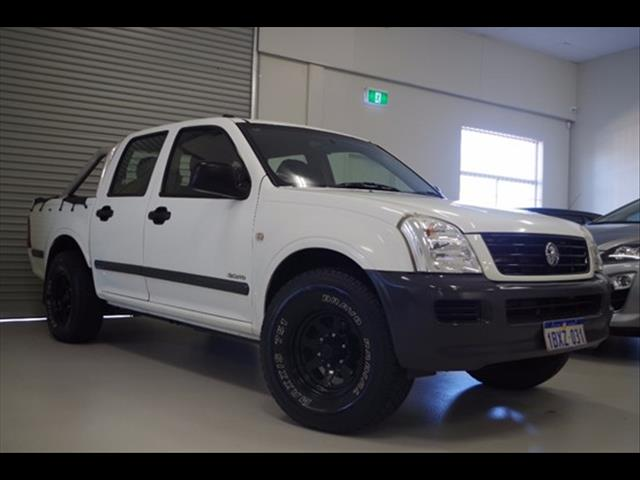 2005 HOLDEN RODEO LX RA UTILITY