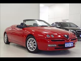 2001 ALFA ROMEO SPIDER TWIN SPARK (No Series) CONVERTIBLE