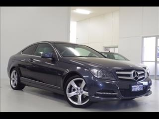 2012 MERCEDES-BENZ C250 BLUEEFFICIENCY C204 COUPE