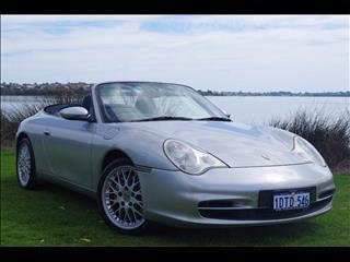 2001 PORSCHE 911 CARRERA 4 CABRIO 996 CONVERTIBLE