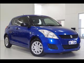 2012 SUZUKI SWIFT GA FZ HATCHBACK