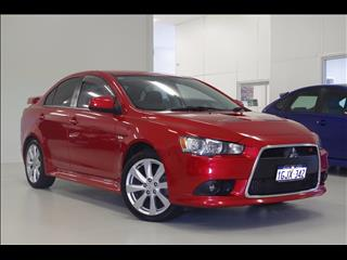 2011 MITSUBISHI LANCER RALLIART CJ SEDAN