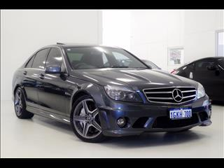 2010 MERCEDES-BENZ C63 AMG EDITION 63 W204 SEDAN