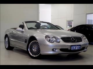 2002 MERCEDES-BENZ SL500  R230 ROADSTER