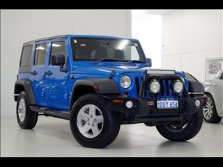 2011 JEEP WRANGLER UNLIMITED SPORT JK SOFTTOP