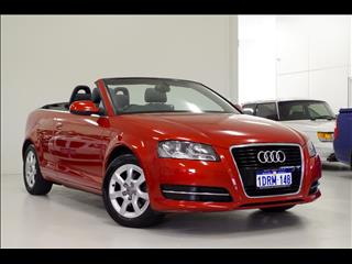2011 AUDI A3 TFSI Attraction 8P CONVERTIBLE